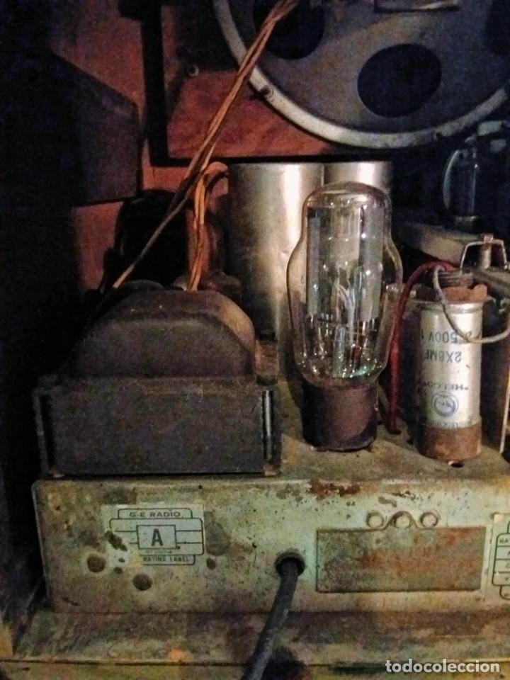 Radios de válvulas: ESPECTACULAR RADIO GENERAL ELECTRIC AÑOS 40 FUNCIONANDO - Foto 16 - 54407641