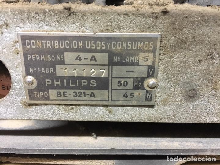 Radios de válvulas: Radio antiguo Philips. - Foto 7 - 158714382