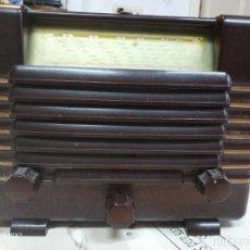 Radios de válvulas: PHILIPS RADIO ANTIGUA ORIGINAL DE BAKELITA. Lote 159380954