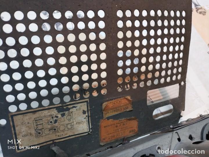 Radios de válvulas: PHILIPS RADIO ANTIGUA ORIGINAL DE BAKELITA - Foto 4 - 159380954