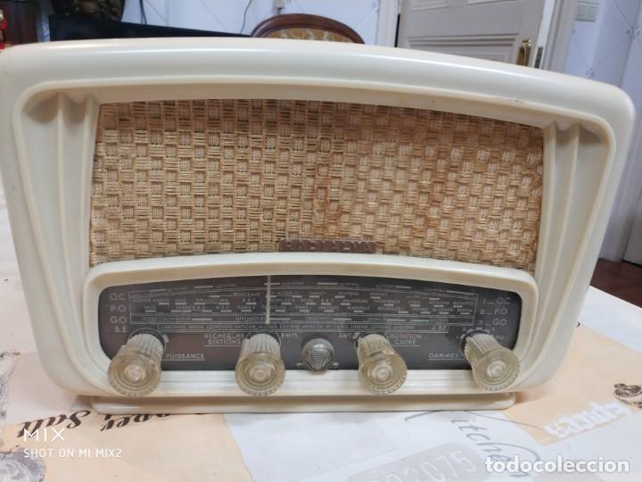 ELEGANTE RADIO RADIALVA - MODELO SUPER-AS 55 EXPORT (Radios, Gramófonos, Grabadoras y Otros - Radios de Válvulas)