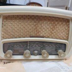 Radios de válvulas: ELEGANTE RADIO RADIALVA - MODELO SUPER-AS 55 EXPORT. Lote 159381786