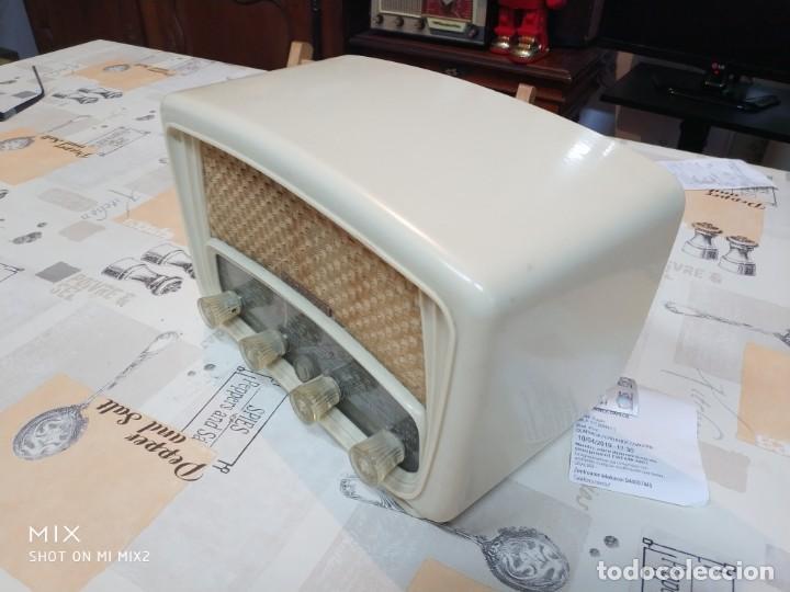 Radios de válvulas: ELEGANTE RADIO RADIALVA - MODELO SUPER-AS 55 EXPORT - Foto 2 - 159381786