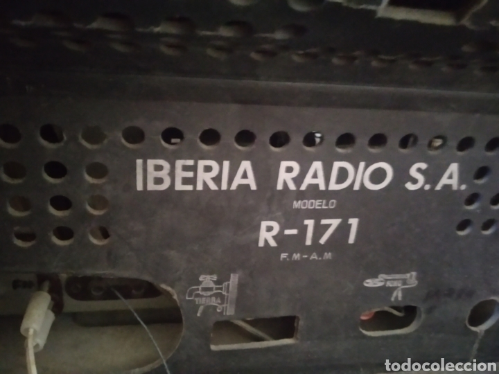 Radios de válvulas: Radio tocadiscos Iberia - Foto 4 - 159471741
