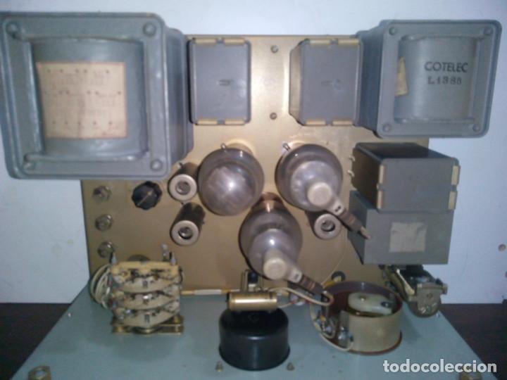 Radios de válvulas: Radio Militar. Generador de señales. COTELEC DERVEAUX - Foto 5 - 159753258