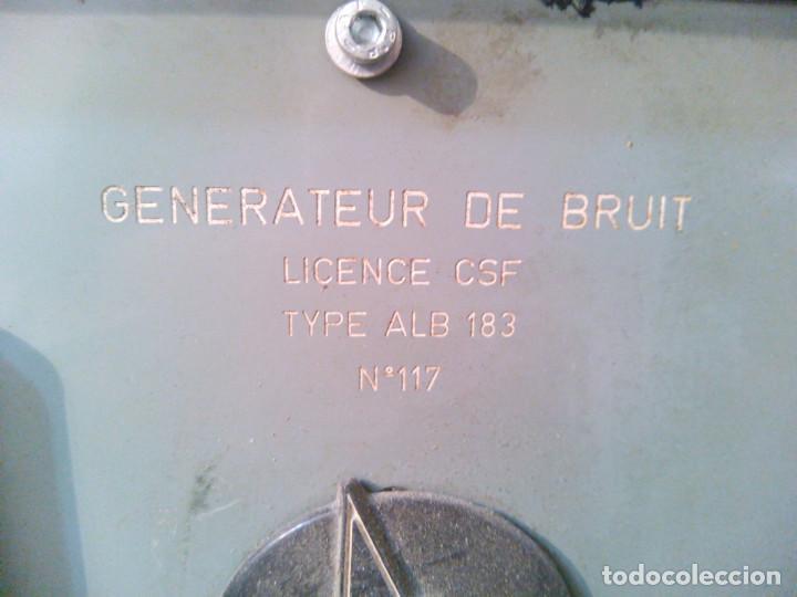 Radios de válvulas: Radio Militar. Generador de señales. COTELEC DERVEAUX - Foto 8 - 159753258