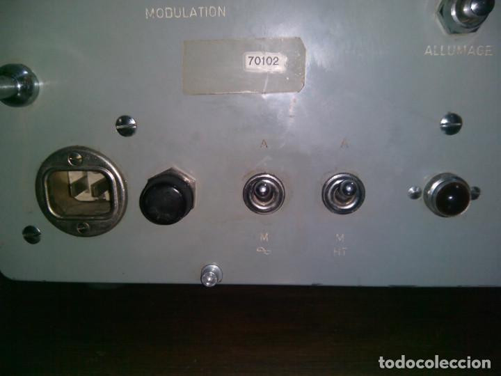 Radios de válvulas: Radio Militar. Generador de señales. COTELEC DERVEAUX - Foto 10 - 159753258
