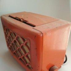 Radios de válvulas: ANTIGUA RADIO BAQUELITA. Lote 159912342