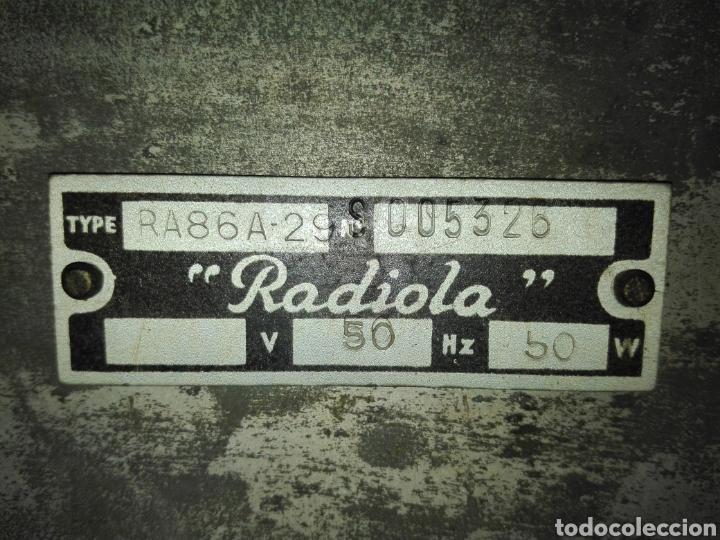 Radios de válvulas: Radio Radiola - Foto 6 - 160298782