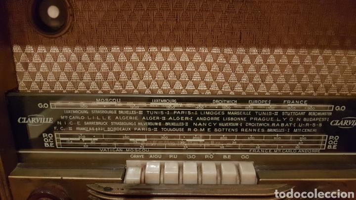RADIO DE VALVULAS CLARVILLE. AÑOS 1950~ (Radios, Gramófonos, Grabadoras y Otros - Radios de Válvulas)