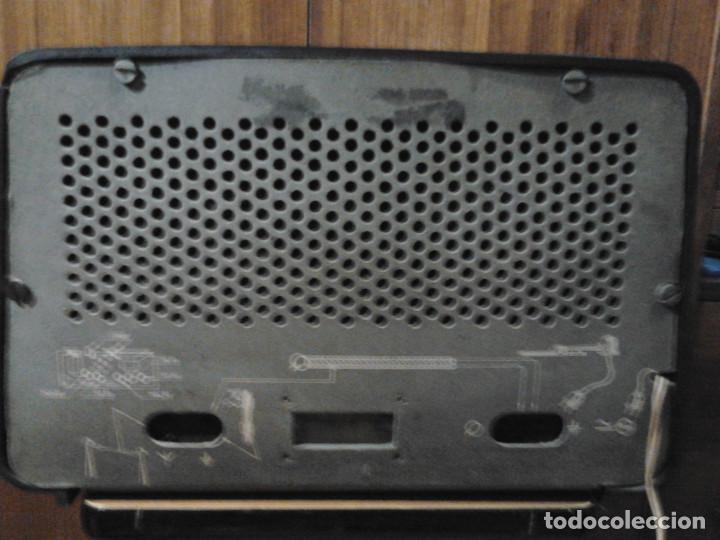 Radios de válvulas: Radio Philips Ibérica, SA +TRANSFORMADOR VOLTAM FUNCIONANDO - Foto 2 - 158646714