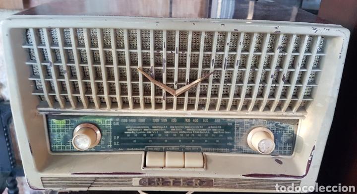 ANTIGUA RADIO INTER MODELO TEXAS (Radios, Gramófonos, Grabadoras y Otros - Radios de Válvulas)