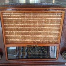 Radios de válvulas: ANTIGUA RADIO MADERA TELEFUNKEN MODELO SUPER COLON. Lote 161581961