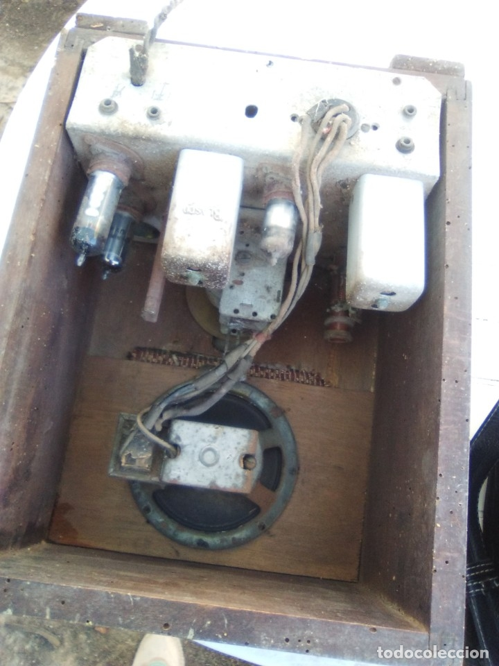 Radios de válvulas: Preciosa radio de válvulas modernista de los años treinta - Foto 2 - 142274002