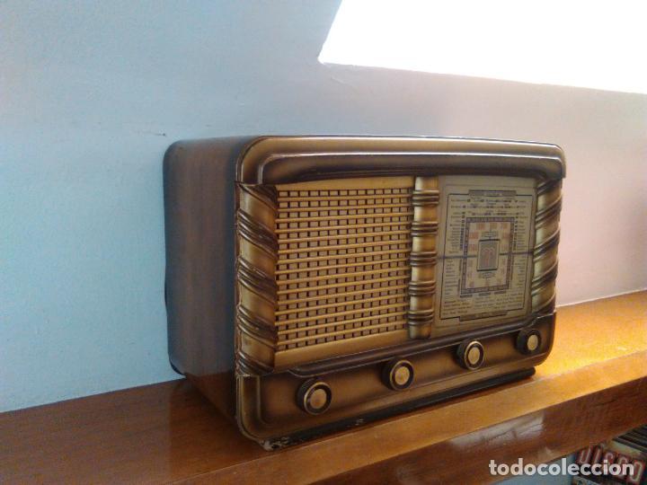 Radios de válvulas: RADIO ANTIGUA - Foto 5 - 162582618