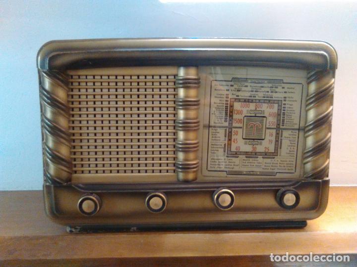 Radios de válvulas: RADIO ANTIGUA - Foto 6 - 162582618