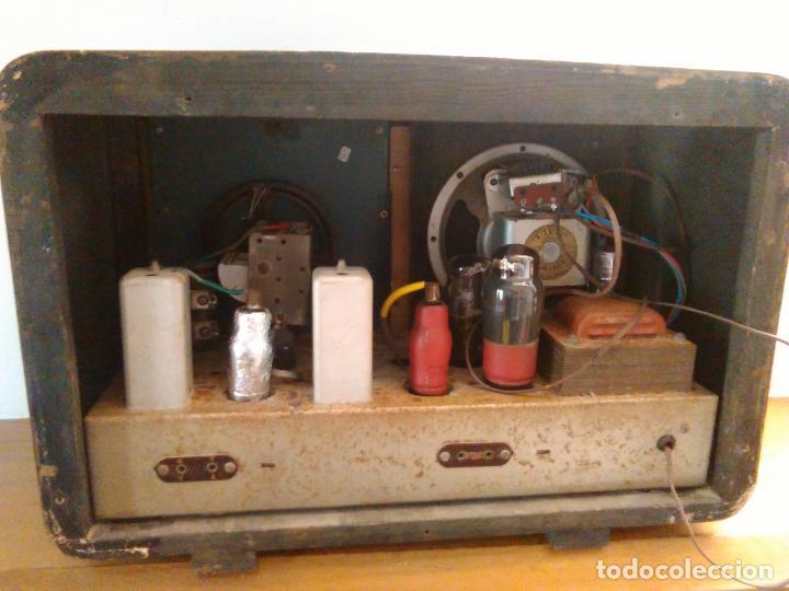 Radios de válvulas: RADIO ANTIGUA - Foto 8 - 162582618