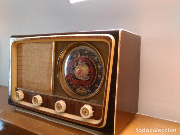 Radios de válvulas: radio antigua a valvulas funciona - Foto 2 - 162582974