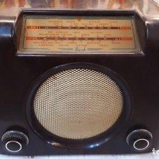 Radios de válvulas: BUSH RADIO, IMPECABLE, FUNCIONADO.. Lote 164059490