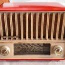 Radios de válvulas: RADIO TELEFUNKEN PANCHITO ROJA. FUNCIONA CORRECTAMENTE. VER VIDEO. Lote 164956458