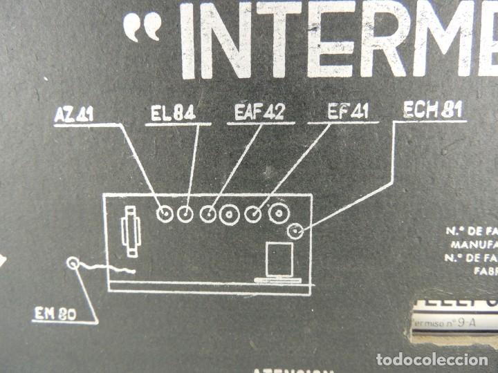 Antigua radio de válvulas, telefunken intermezz - Sold at