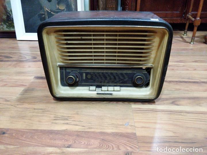 RADIO TELEFUNKEN 6 VÁLVULAS 40.5 X 18.5 X 29CM (Radios, Gramófonos, Grabadoras y Otros - Radios de Válvulas)