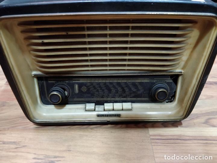 Radios de válvulas: Radio TELEFUNKEN 6 válvulas 40.5 x 18.5 x 29cm - Foto 4 - 167650220