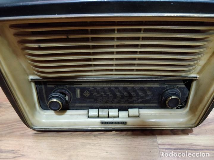 Radios de válvulas: Radio TELEFUNKEN 6 válvulas 40.5 x 18.5 x 29cm - Foto 5 - 167650220