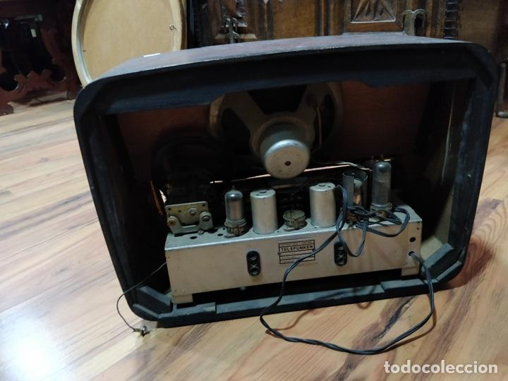 Radios de válvulas: Radio TELEFUNKEN 6 válvulas 40.5 x 18.5 x 29cm - Foto 8 - 167650220