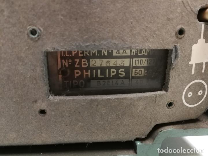 Radios de válvulas: IMPRESIONATE ANTIGUA RADIO BAQUELITA MARCA PHILIPS B2E14A VINTAGE AÑOS 50 RARO 4 VALVULAS FUNCIONA - Foto 5 - 167841004