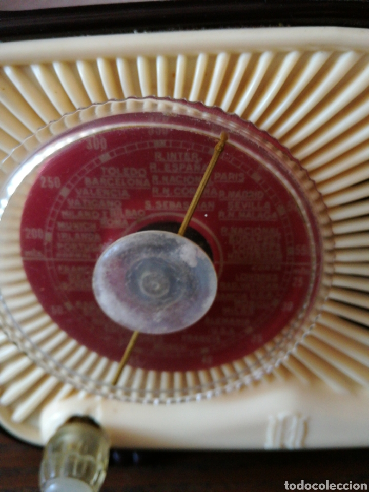 Radios de válvulas: APARATO DE RADIO MARCA MADRID RADIO MOD59 - Foto 2 - 168353866