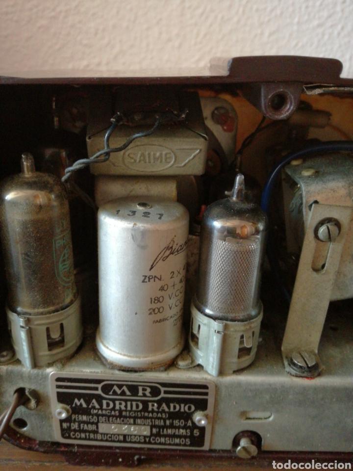 Radios de válvulas: APARATO DE RADIO MARCA MADRID RADIO MOD59 - Foto 13 - 168353866