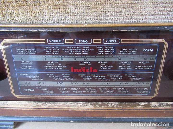 Radios de válvulas: Radio Invicta Mod. 329 - Foto 3 - 168486008