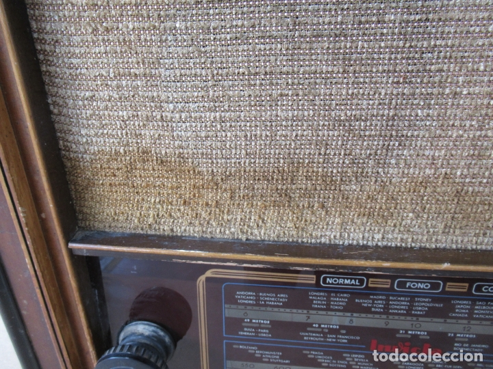 Radios de válvulas: Radio Invicta Mod. 329 - Foto 4 - 168486008