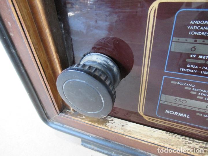 Radios de válvulas: Radio Invicta Mod. 329 - Foto 5 - 168486008