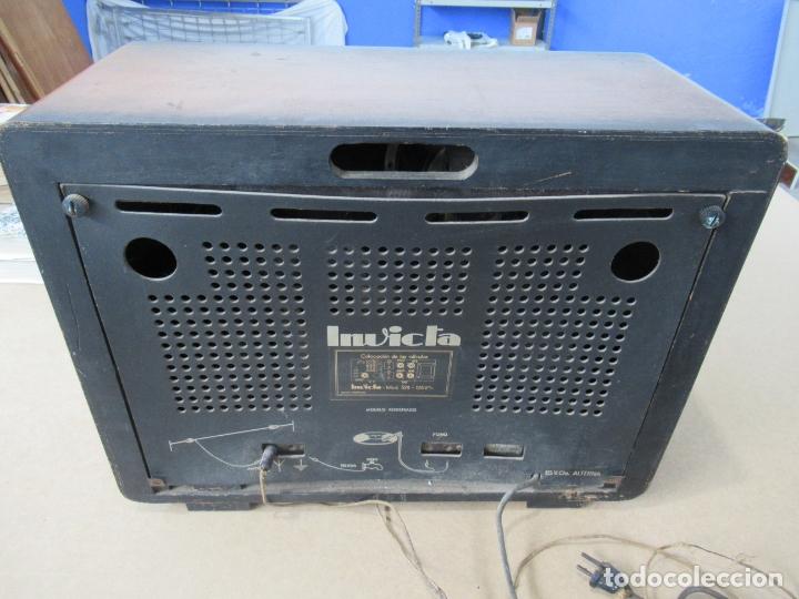Radios de válvulas: Radio Invicta Mod. 329 - Foto 15 - 168486008
