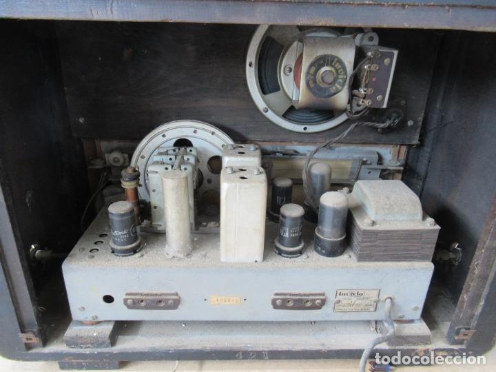 Radios de válvulas: Radio Invicta Mod. 329 - Foto 21 - 168486008