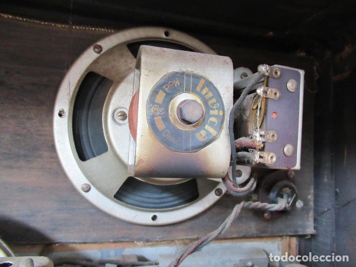 Radios de válvulas: Radio Invicta Mod. 329 - Foto 22 - 168486008
