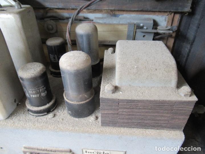 Radios de válvulas: Radio Invicta Mod. 329 - Foto 23 - 168486008