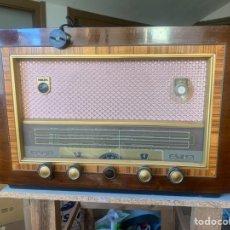 Radios de válvulas: RADIO MADERA PHILIPS. Lote 161366902