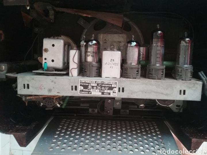 Radios de válvulas: RADIO de válvulas marca ASKAR Mod. 446-U. - Foto 9 - 169050950