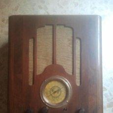 Radios de válvulas: TREMENDA RADIO ANTIGUA DE CAPILLA - RIGOM - RIGAU Y GÓMEZ, BARCELONA - AÑOS 1920 / 1930 - ÚNICA !!. Lote 169972032