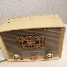 Radios de válvulas: RADIO DE VÁLVULAS PHILIPS TIPO PERIQUITO. Lote 170116660