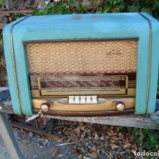 Radios de válvulas: RADIO ANTIGUA DE LA MARCA TRIDENT. Lote 170165452