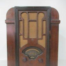 Radios de válvulas: ANTIGUA RADIO CAPILLA - MARCA ATWATER KENT, MOD E-308 - PLACA CASA SOLER, MATARO. Lote 180454381