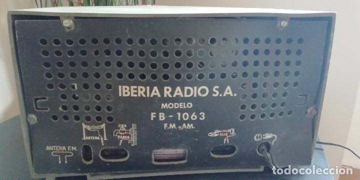 Radios de válvulas: Radio Iberia md FB- 1063 de valvulas - Foto 3 - 170556508