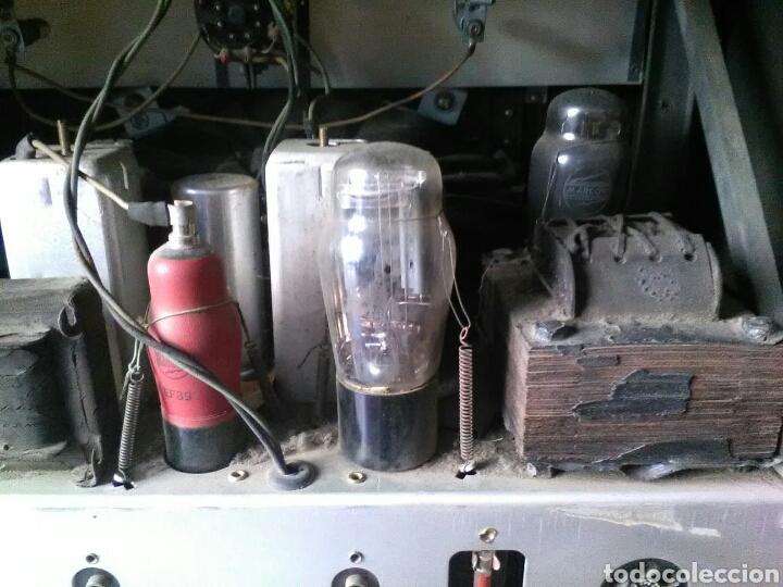 Radios de válvulas: Radio Marconi M-49 - Foto 6 - 150569878