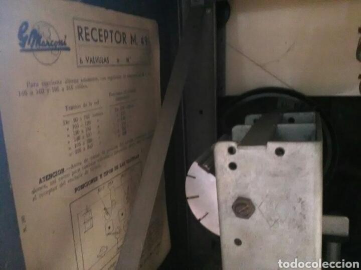 Radios de válvulas: Radio Marconi M-49 - Foto 8 - 150569878