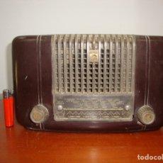 Radios de válvulas: (TC-212/119) DIFICIL RADIO VALVULAS PHILIPS BAQUELITA VER FOTOS. Lote 171236582