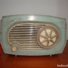 Rádios de válvulas: (TC-212/119) DIFICIL RADIO VALVULAS ASKAR BAQUELITA VER FOTOS. Lote 191074225